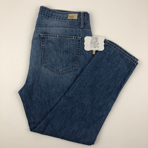 PAIGE Denim - PAIGE Jeans Callie Crop Jeans